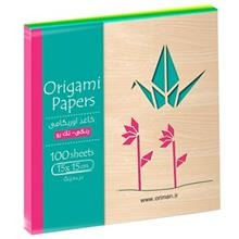 Origami Oriman One Side Colored Origami Paper