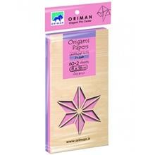 Oriman Pink Patterned Origami Paper