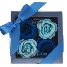 گل صابونی کلی رز گاردن مدل Blue Box