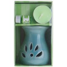 Oil Burner with  Warmer Mint Aroma Pack