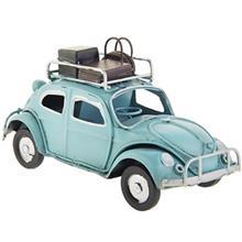 ماشین دکوری مدل فولکس واگن با چمدان