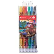 مداد شمعي 6 رنگ اونر کد 533806