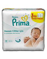 Pampers prima - دستمال مرطوب ضد حساسیت