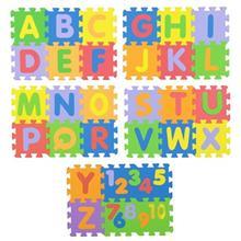بازي آموزشي پالاس مدل حروف و اعداد انگليسي سايز کوچک