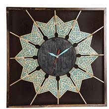 ساعت دیواری گالری آسوریک طرح خورشید