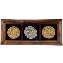 تابلو گالری آسوریک طرح سه سکه