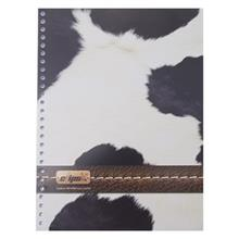 Clips 26 Holes Cow Skin Design Box File Paper