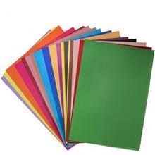 کاغذ رنگي کليپس - بسته 18 رنگ