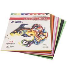 مقواي طراحي کليپس مدل Color Craft سايز A4 - بسته 100 عددي