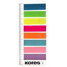 Kores Film Index Strips on Ruler Sticky Notes - Pack of 200