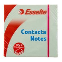 کاغذ یادداشت چسب دار ایسلتی Contacta - سایز 75 در 75 میلیمتر - 100 برگی