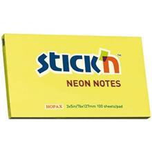 Hopax Neon Big Rectangular Sticky Notes