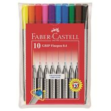 Faber Castell Grip Finepen 10 Color Rollerball Pen