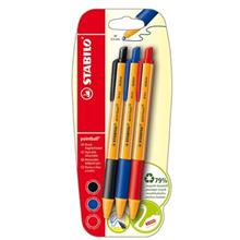 Stabilo Pointball M 3 Colors Pen