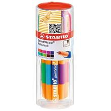 Stabilo PointVisco Fineliner - Pack of 10