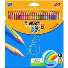 مداد رنگی بیک کیدز تراپی کالر تو 24 رنگ