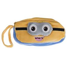 Clips Plush Minion Pencil Case
