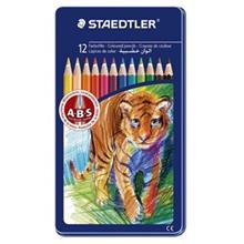 مداد رنگي 12 رنگ استدلر مدل 145