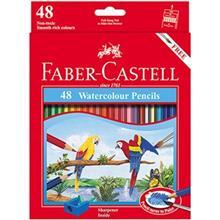 مداد  آبرنگی 48 رنگ فابر کاستل مدل Classic