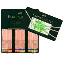 مداد رنگی پاستلی  60 رنگ فابر کاستل مدل پیت