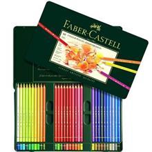 مداد رنگی 60 رنگ فابر کاستل مدل Polychromos