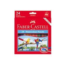 مداد آبرنگی 24 رنگ فابر کاستل مدل Classic