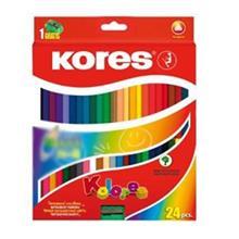 مداد رنگي 24 رنگ کورس