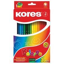 مداد رنگي 36 رنگ کورس