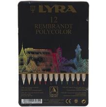 مداد رنگی 12 رنگ لیرا مدل Rembrandt Polycolor