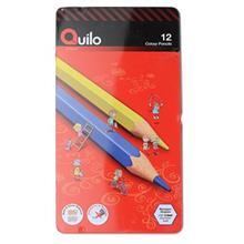 مداد رنگي 12 رنگ کوييلو