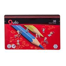 مداد رنگی 36 رنگ کوییلو