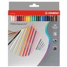 مداد آبرنگي 24 رنگ استابيلو مدل آکواکالر