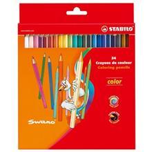 مداد رنگي 24 رنگ استابيلو مدل سوانو