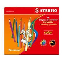 مداد رنگی 24 رنگ استابیلو مدل سووانو