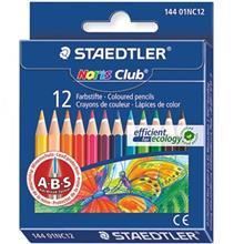 مداد رنگي 12 رنگ استدلر مدل Noris Club