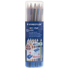 مداد رنگي 10 رنگ استدلر مدل نوريس کلاب جامبو