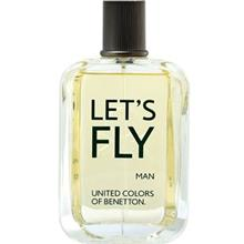 Benetton Lets Fly Eau De Toilette For Men 100ml