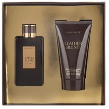 Davidoff Leather Blend Eau De Parfum Gift Set For Men 100ml