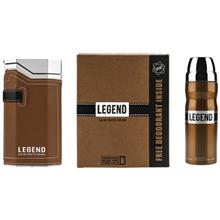 Emper Legend Eau De Toilette Gift Set For Men 100ml