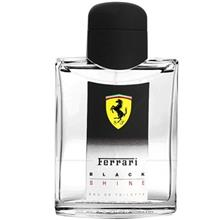 Ferrari Black Shine Eau De Toilette For Men 125ml