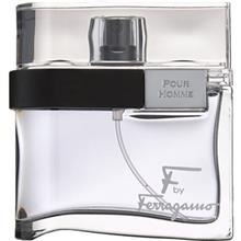 Salvatore Ferragamo F by Ferragamo Black Eau De Toilette For Men 100ml