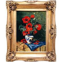 تابلو فرش طرح گل شقايق کد 9901024