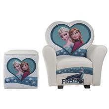 مبل و جلو مبلي کودک پينک مدل Frozen