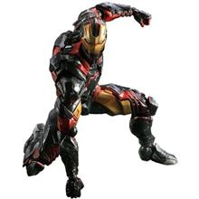 Play Arts Kai Iron Man Action Figure Size Medium