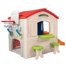 پارک بازي گرون آپ مدل Wrigglen Slide Playhouse