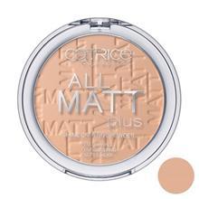 پنکيک بژ متوسط کاتريس مدل All Matt Plus Shine Control Powder 025