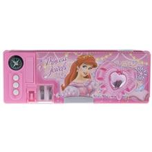 Princess Jewels Mechanical Pencil Case - with Compass