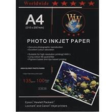 Worldwide G135-100 Glossy Photo Paper