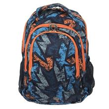 Pulse Blass Orange Puzzle Backpack