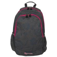 Pulse Cots Gray Flower Backpack